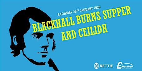 Blackhall Burns Supper and Ceilidh tickets