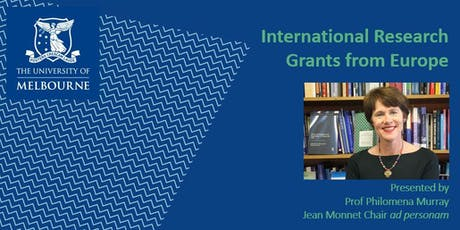 International Research - Grants from Europe tickets