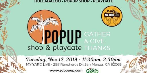 Friendsgiving Pop-Up & Food Drive with Hullabaloo