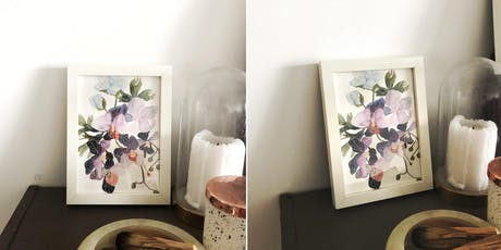 Loose Floral Watercolour Painting tickets