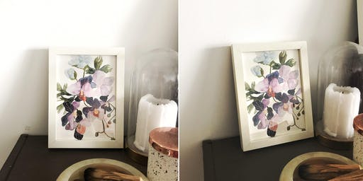 Loose Floral Watercolour Painting