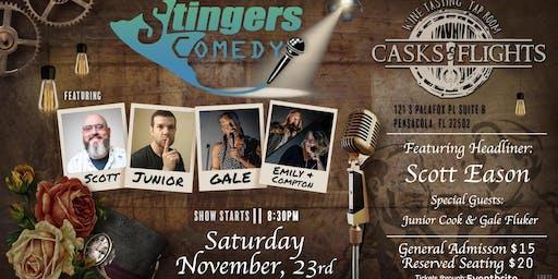 Stingers Comedy at Casks & Flights