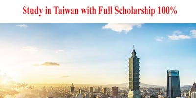 Study in Taiwan with 100% Scholarship