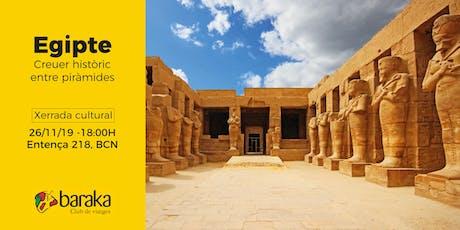 Egipte: Creuer històric entre piràmides entradas