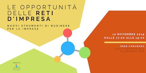 Le opportunità delle reti d'impresa