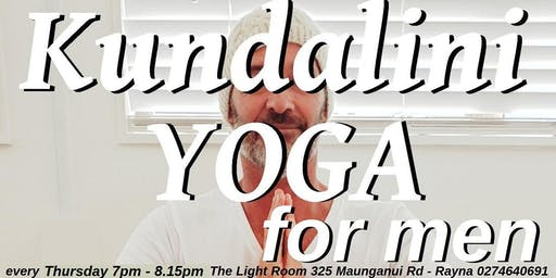 Kundalini Yoga For Men, Every Thursday 7pm to 8pm - Health, Vigor and Vitality!