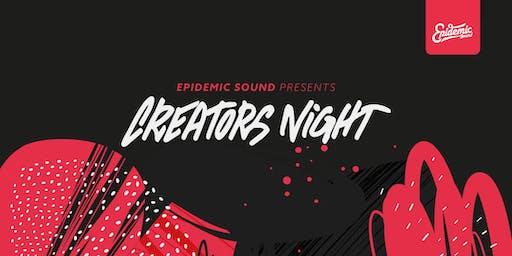 Epidemic presents: CREATORS NIGHT Vol. II