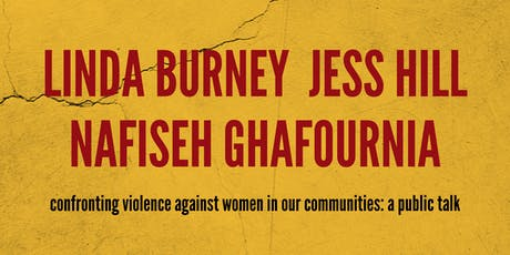 Confronting Violence Against Women in Our Communities tickets