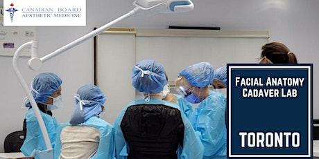 Facial Anatomy Cadaver Lab tickets