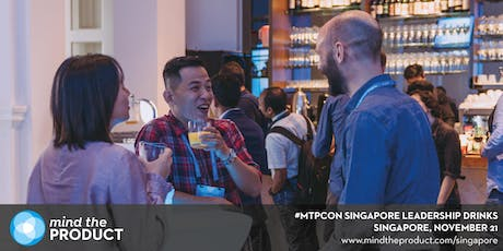 Mind the Product Singapore November Leadership Drinks tickets
