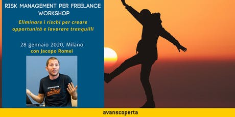 Risk Management per Freelance Workshop biglietti