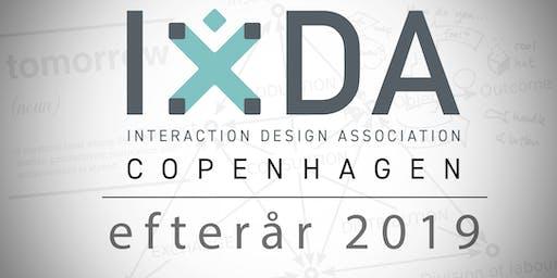 IxDA Copenhagen - efterår 2019
