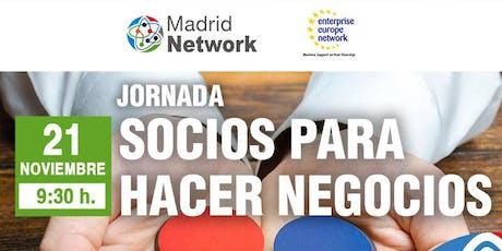Jornada de networking: Socios para hacer negocios entradas