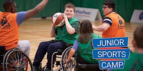 WheelPower - Feel Inspired Junior Sports Camp - Thursday 6th February 2020  tickets