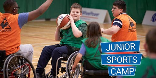 WheelPower - Feel Inspired Junior Sports Camp - Thursday 6th February 2020