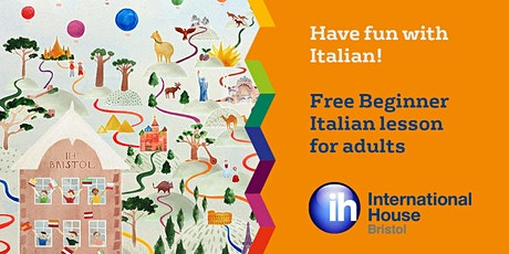 Italian for adults (1 hour fun class) - Bristol Lifelong Learning Festival tickets