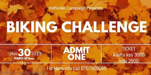 Kid Smile Campaign Biking Challenge
