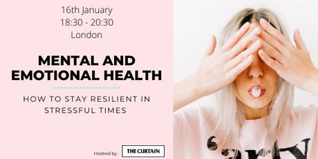 Wellbeing series:Mental and emotional health: how to take care of ourselves tickets