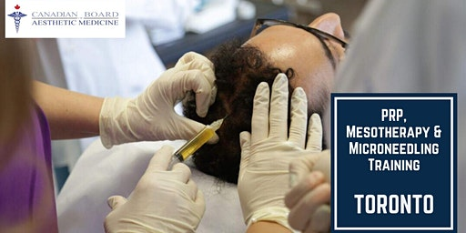 PRP Mesotherapy Microneedling training Course