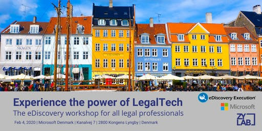 LegalTech Workshop for legal professionals - 4 February  2020