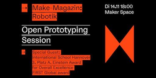 Open Prototyping Session - Make: Robotik