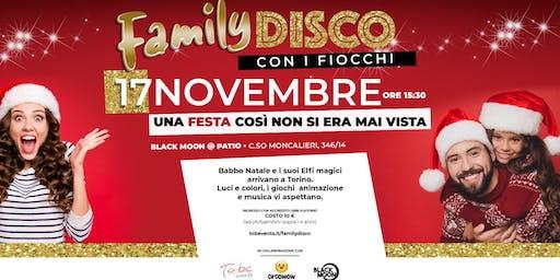 FAMILY DISCO CON I FIOCCHI