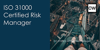 ISO+31000+Certified+Risk+Manager