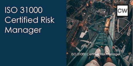 ISO 31000 Certified Risk Manager tickets