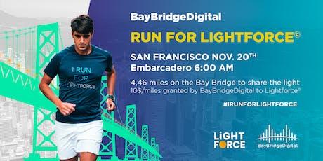 Run For LightForce by BayBridgeDigital tickets