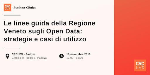 Le linee guida della Regione Veneto sugli Open Data: strategie e casi di utilizzo