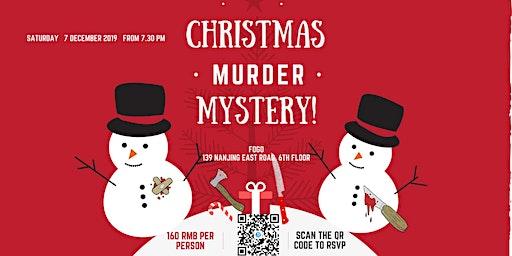 Murder mystery Christmas!