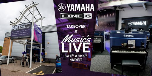 Yamaha & Line 6 Takeover at PMT Birmingham