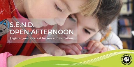 Buckinghamshire County Council - SEND Open Afternoon tickets