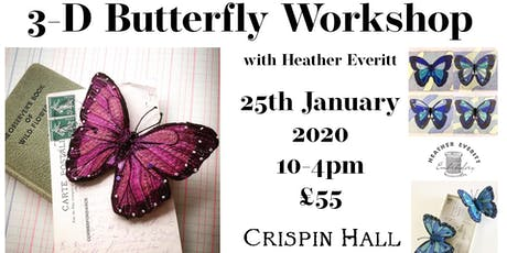 3-D Butterfly Workshop with Heather Everitt tickets