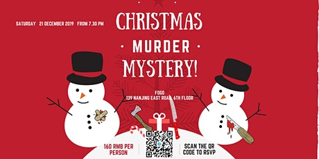 Murder mystery Christmas second edition tickets