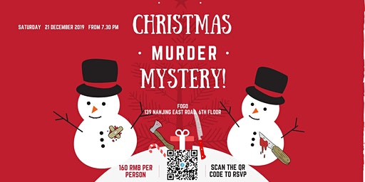 Murder mystery Christmas second edition