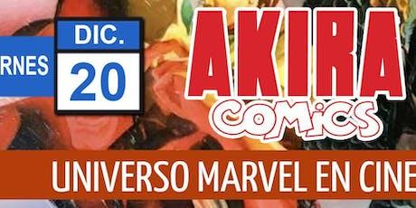 El Universo Marvel en el cine y en los cómics con Strip Marvel entradas