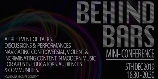 Behind Bars: A mini conference exploring criminality in music