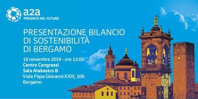 Presentazione del Bilancio di Sostenibilità di Bergamo