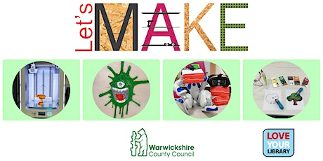 3D Design and Printing at Rugby Library tickets