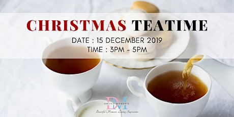 CALLING FOR GENTS! Christmas Teatime (Christian's Special) tickets