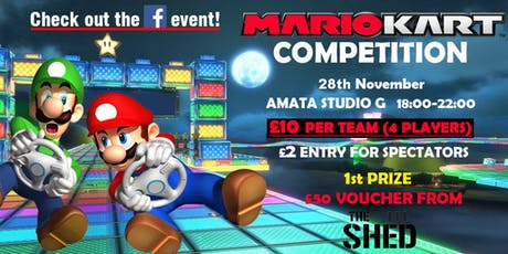 Kart competition tickets
