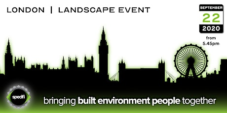 Specifi London 2 - LANDSCAPE EVENT tickets