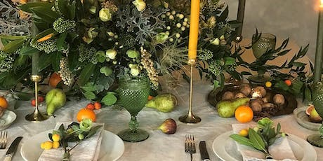 Noel Magic | Midwinter Tablescapes | Christmas Lunch tickets