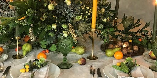 Noel Magic | Midwinter Tablescapes | Christmas Lunch