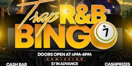 Trap  R&B Bingo tickets