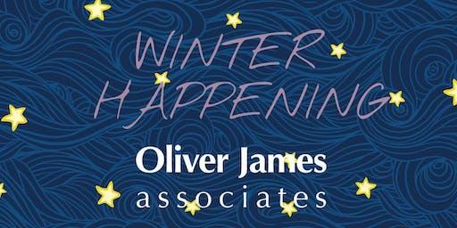 Winter Happening @ Oliver James Associates