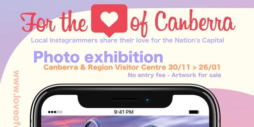 For the love of Canberra photo exhibition - Opening event