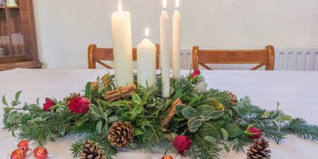 Festive Table Centrepiece Workshop tickets