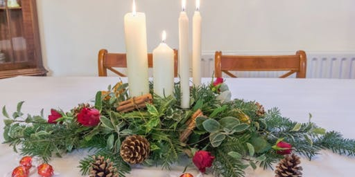 Festive Table Centrepiece Workshop